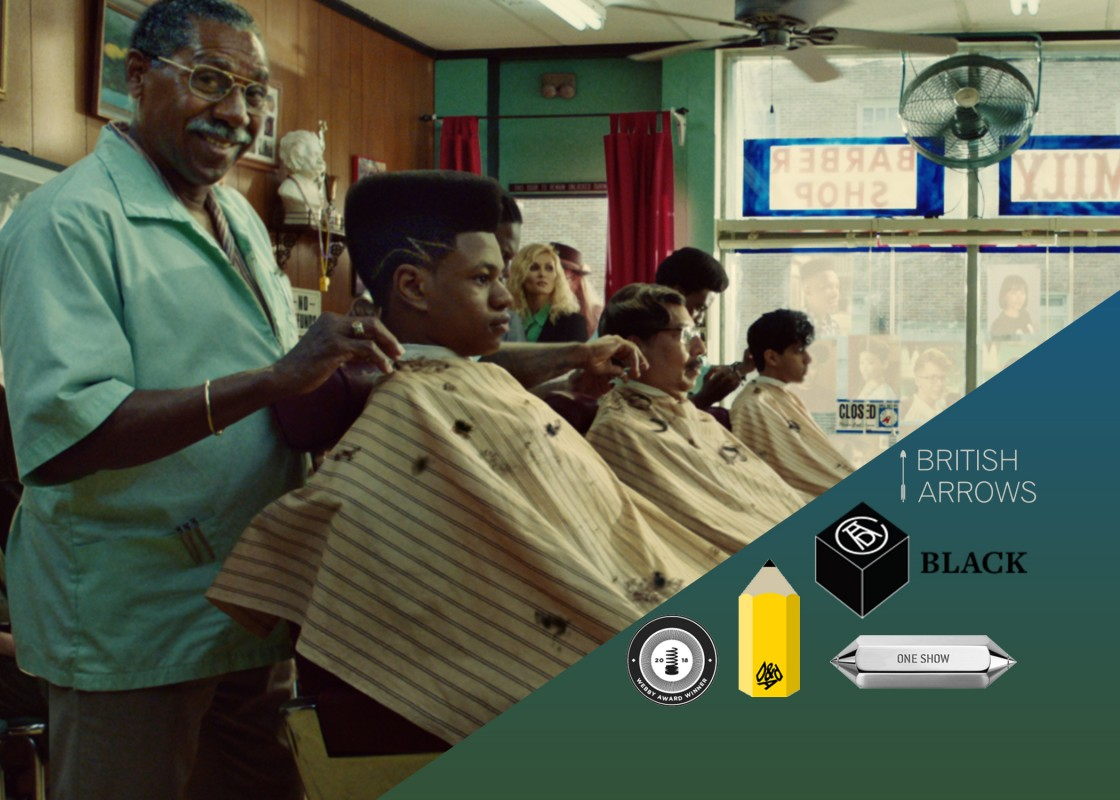 "Dougal Wilson's ""Barbers"" for Apple is sweeping the 2018 awards shows"
