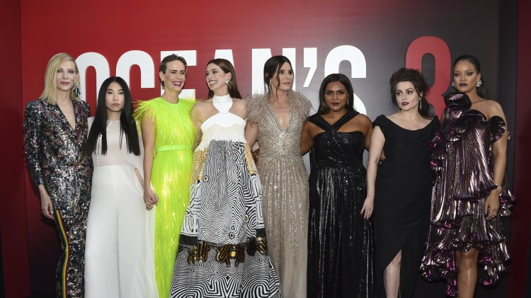 Gary Ross' Ocean's 8 Premieres in NYC